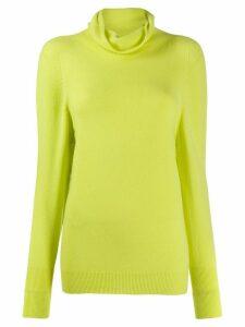 Blumarine roll neck jumper - Yellow