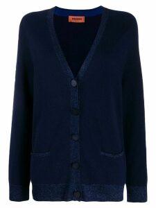 Missoni cashmere knit cardigan - Blue