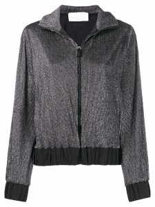 No Ka' Oi hyper zip-up top - Black