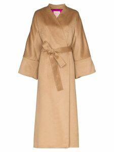 Roksanda Larisa oversized wrap coat - Neutrals