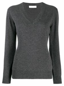 Fabiana Filippi knitted top - Grey
