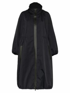 Bottega Veneta zipped oversize coat - Black