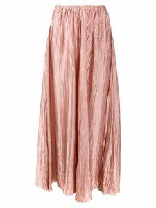 Forte Forte flared midi skirt - Pink