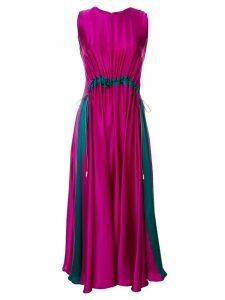Roksanda Heliotrope drawstring dress - Purple
