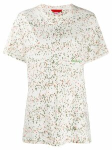 Eckhaus Latta multi-print T-shirt - White