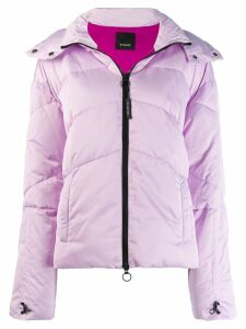 Pinko puffer jacket - Purple