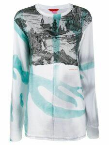 Eckhaus Latta Yosemite T-shirt - White