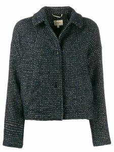 Bellerose cropped fitted jacket - Blue