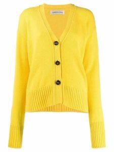 Lamberto Losani dropped shoulder cardigan - Yellow