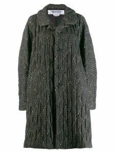 Comme Des Garçons Comme Des Garçons oversized coat - Black