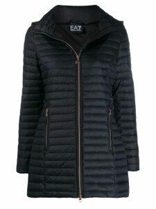 Ea7 Emporio Armani short padded jacket - Black