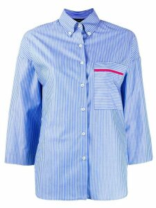 Jejia striped cotton blouse - Black