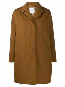 Aspesi boxy single-breasted coat - Brown