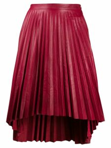 Isaac Sellam Experience pleated midi skirt - Red