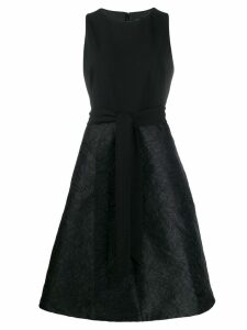 Lauren Ralph Lauren belted midi dress - Black