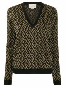 Gucci G rhombus jumper - Black