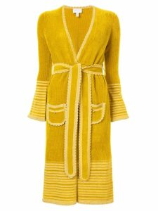 Alice Mccall Kashmir coat - Yellow