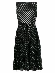 Lauren Ralph Lauren dotted print day dress - Black