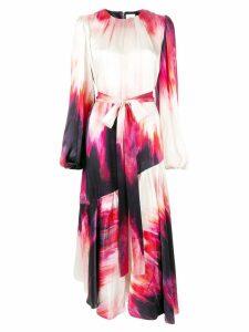 Aje Miami tie dye dress - Purple