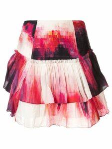 Aje Miami tie dye skirt - Multicolour