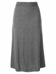 Joseph high-waisted knit midi skirt - Grey