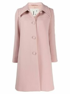 L'Autre Chose single breasted coat - Pink