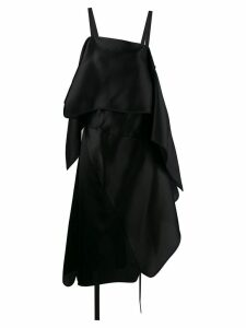 Nina Ricci layered asymmetric dress - Black