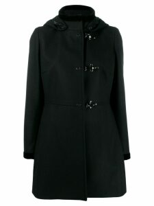 Fay hooded duffle coat - Black