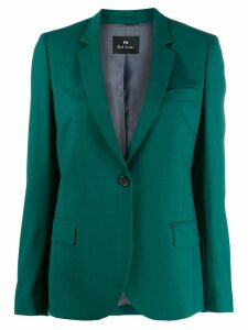PS Paul Smith one-button fitted blazer - Green
