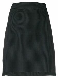 Sportmax pinstripe fitted skirt - Blue