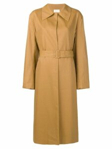 The Row Rundi Belted coat - Brown