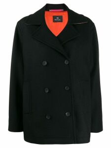 PS Paul Smith double-breasted coat - Black