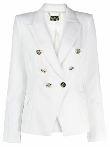 Elisabetta Franchi fitted double-breasted blazer - White