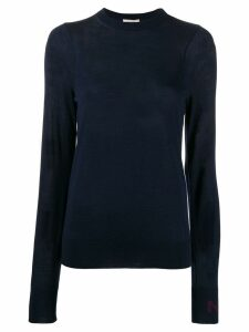 Nina Ricci crew neck sweatshirt - Blue