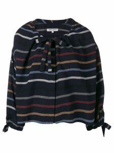 Henrik Vibskov stripe blouse - Blue