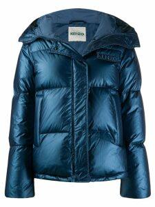 Kenzo hooded padded jacket - Blue
