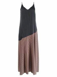 PS Paul Smith striped maxi dress - Blue