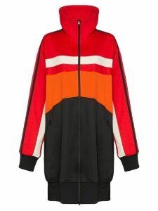 Y-3 oversized varsity track dress - Red