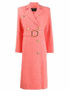 Versace belted trench coat - Pink