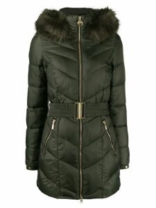 Barbour hooded padded parka - Green