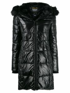 Barbour hooded padded coat - Black