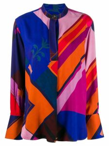 PS Paul Smith geometric print blouse - Neutrals