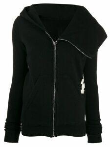 Rick Owens DRKSHDW full zip sweater - Black