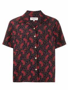 YMC paisley short-sleeve shirt - Blue