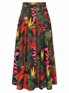 Mara Hoffman Tulay floral-print midi skirt - Multicolour