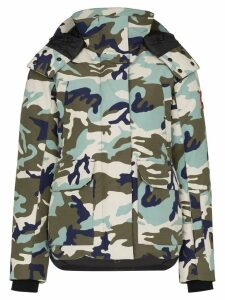 Canada Goose Blakely camouflage-print parka - Blue