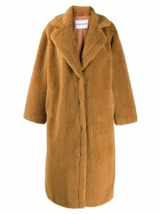 STAND STUDIO oversized Maria coat - NEUTRALS