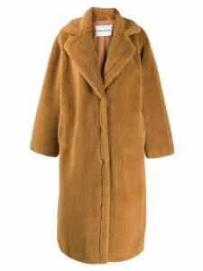 STAND STUDIO oversized Maria coat - Neutrals