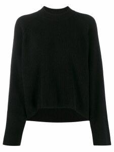 Petar Petrov crew-neck knit sweater - Black