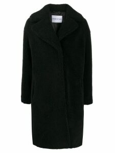 STAND STUDIO shearling coat - Black